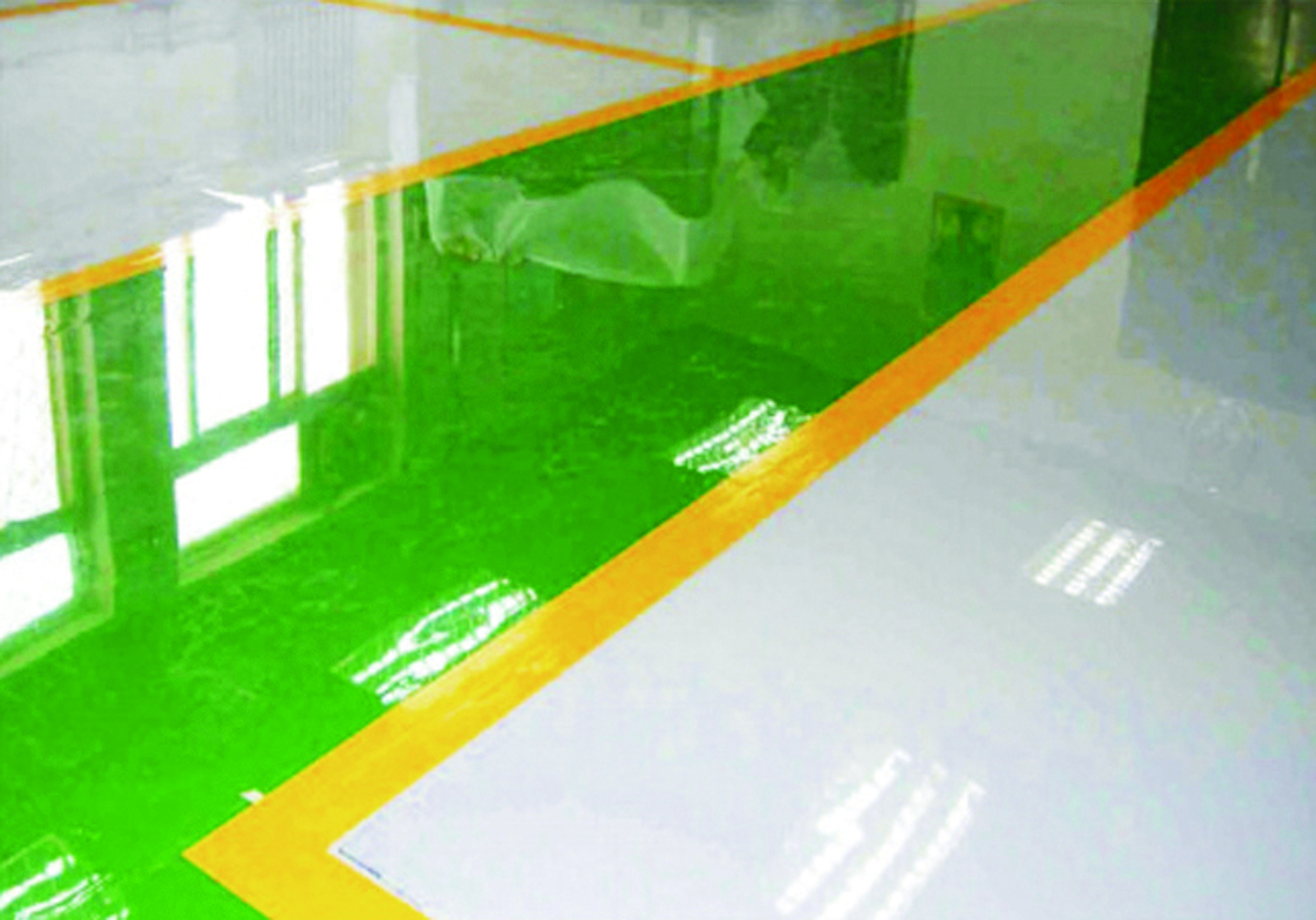 水性环氧地坪中层漆